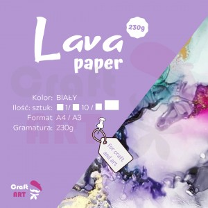 Papier syntetyczny Lava Paper 230 g A3 CraftART