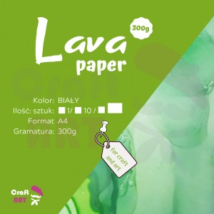 Papier syntetyczny Lava Paper 300g A4 CraftART